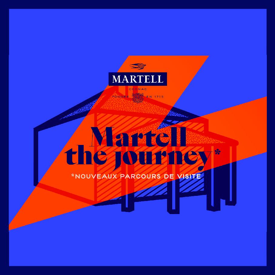 Martell The Journey - Les nouveaux parcours de visites de la Maison Martell