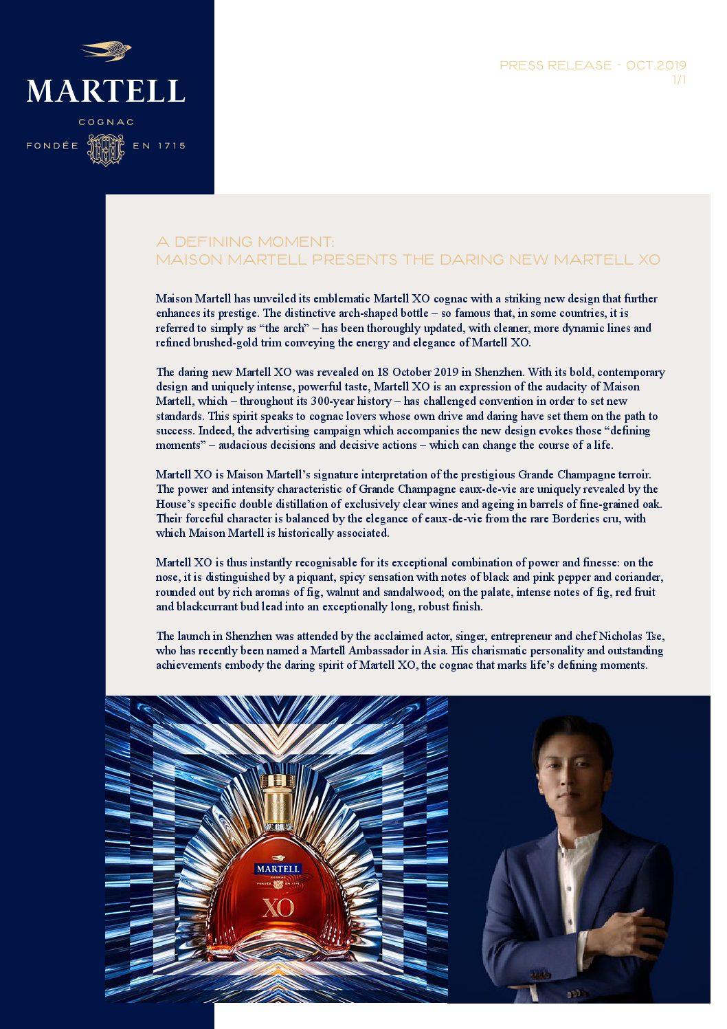 XO MARTELL PRESS RELEASE-pdf